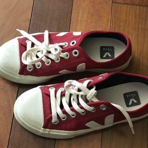 Veja Red Sneakers